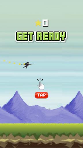Flappy Ninja Saga