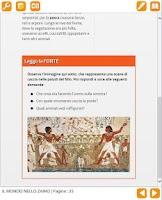 Screenshot of Dbook Giunti Scuola