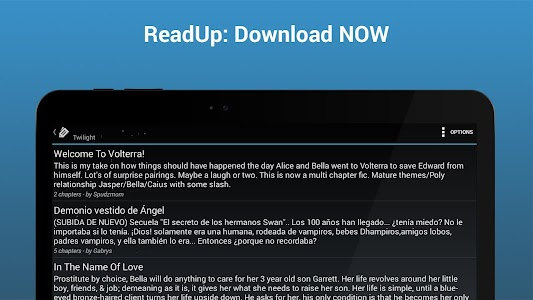 ReadUp FanFiction Reader Pro v3.7