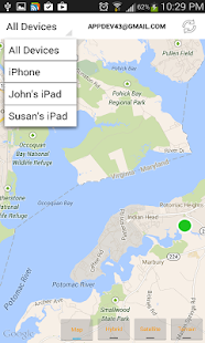 Find iPhone, Android Devices, xfi Locator Pro Screenshot