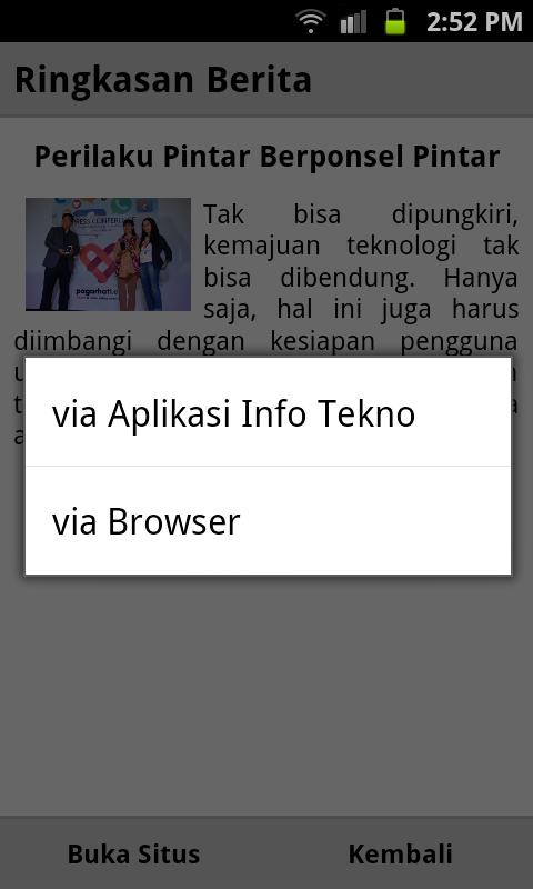 Info Tekno - screenshot