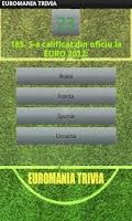 Screenshot of EUROMANIA TRIVIA