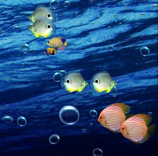 Aquarium 3D LiveWallpaper