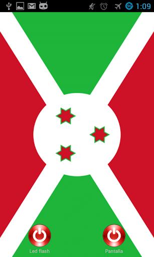 Lantern flash screen Burundi