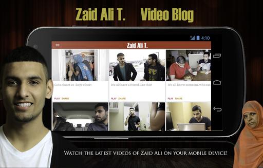 ZaidAliT Fan App