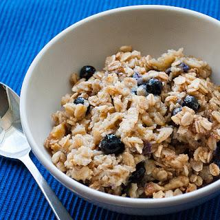 Blueberry Walnut Baked Oatmeal.