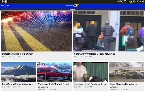 KDRV NewsWatch 12 - screenshot thumbnail