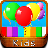 Kids Piano Balloons Game