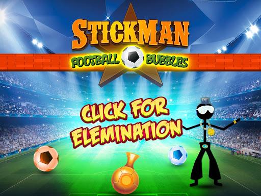 Stickman Football Bubbles