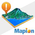 地図マピオン+3D logo