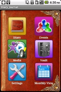 Diary Journal - Personal Notes - screenshot thumbnail