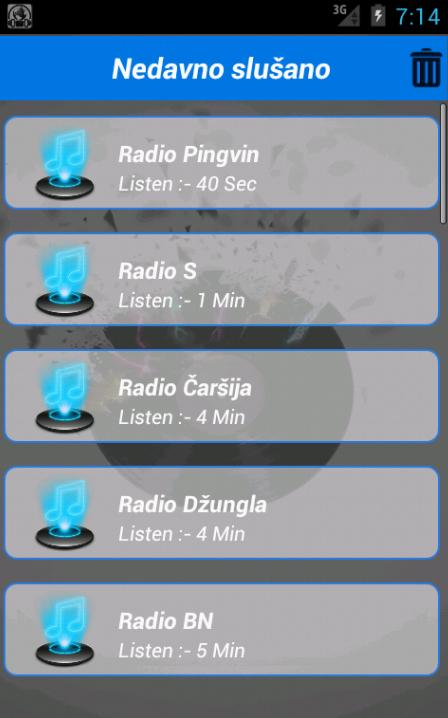 Radio Stanice- screenshot