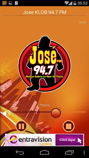 Jose KLOB 94.7 FM