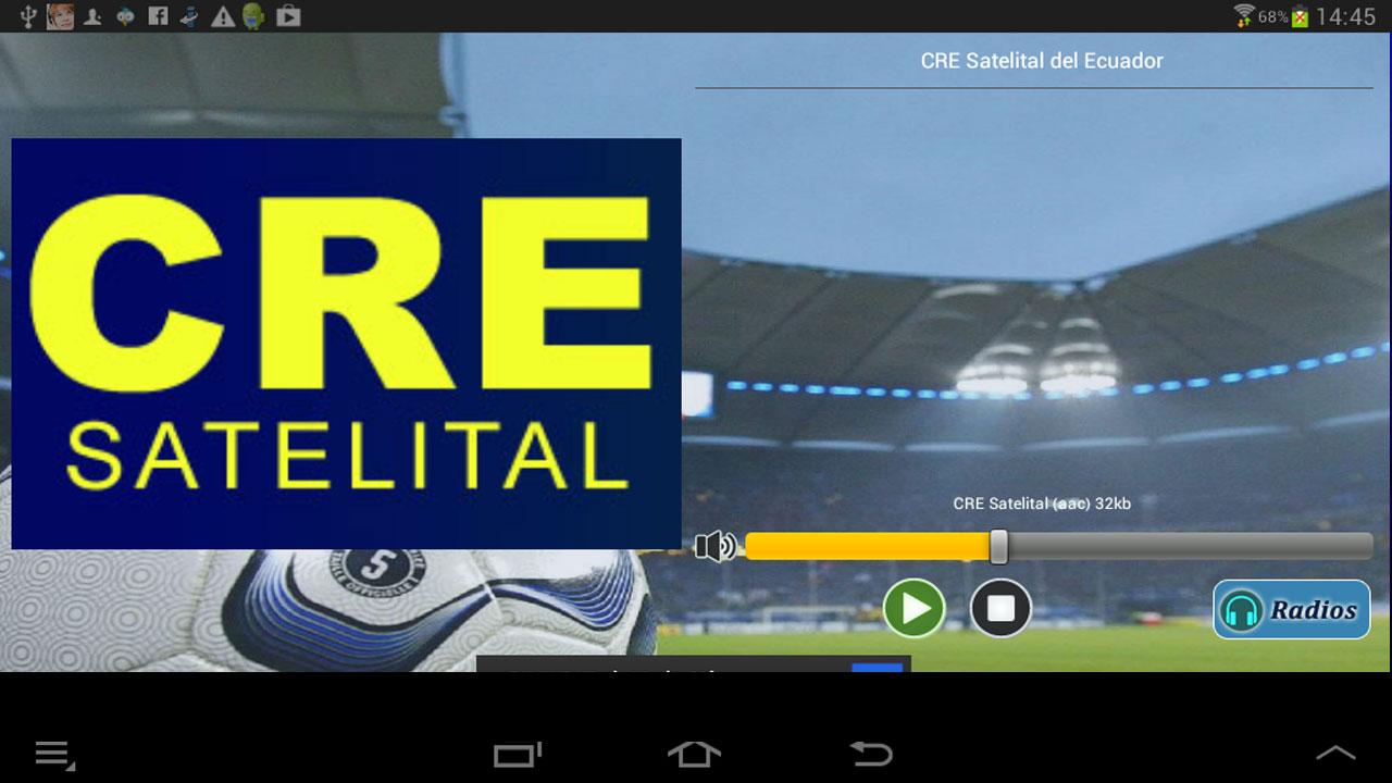 CRE Satelital FM y AM - screenshot