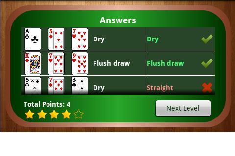 Video poker tester