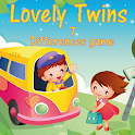 Lovely Twins Find Differences icon