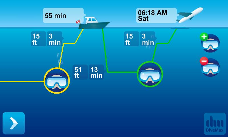 DiveMax AIR Dive Planner- screenshot