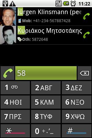 Eir Fast Dialer- screenshot