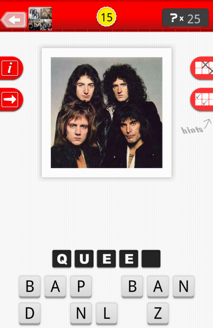 Guess The Band - Logo Quiz - screenshot