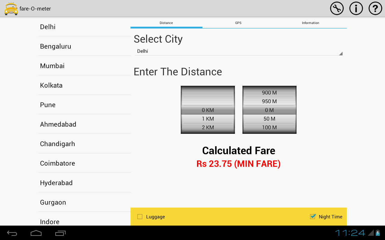 fare-O-meter - screenshot