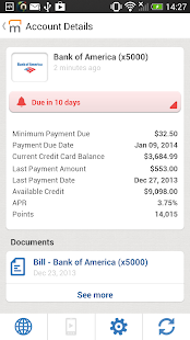 Manilla - Bills and Reminders - screenshot thumbnail