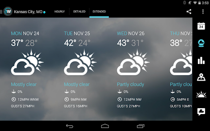 1Weather:Widget Forecast Radar Screenshot 6
