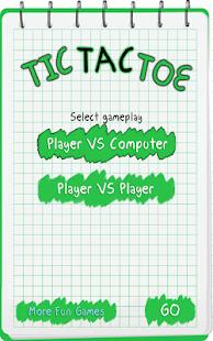 Tic Toc Toe : 纸笔记