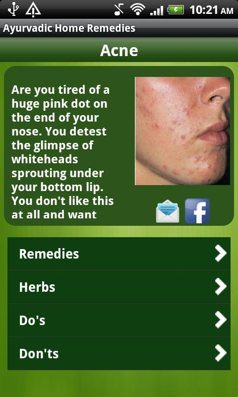 Ayurvedic Home Remedies - screenshot