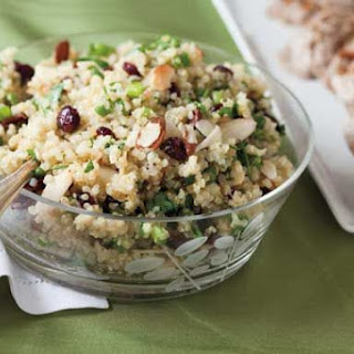 Sweet and Crunchy Quinoa Salad.