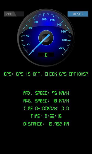 SpeedoMeter GPS v8.6.2 - free blackberry apps download