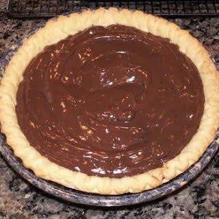 Mom's Chocolate Pie.