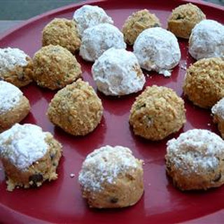 Whitney's Peanut Butter Cookie Balls.