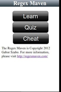 Regex Maven- screenshot thumbnail