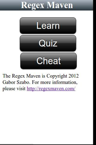 Regex Maven- screenshot