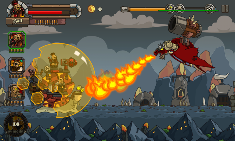 Snail Battles- screenshot