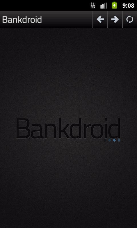 Bankdroid- screenshot