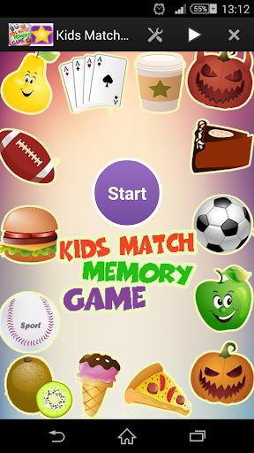 Kids Match Memory Game