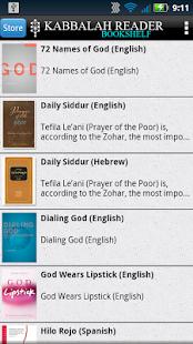 Kabbalah Reader - náhled
