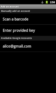 Google Authenticator- screenshot thumbnail