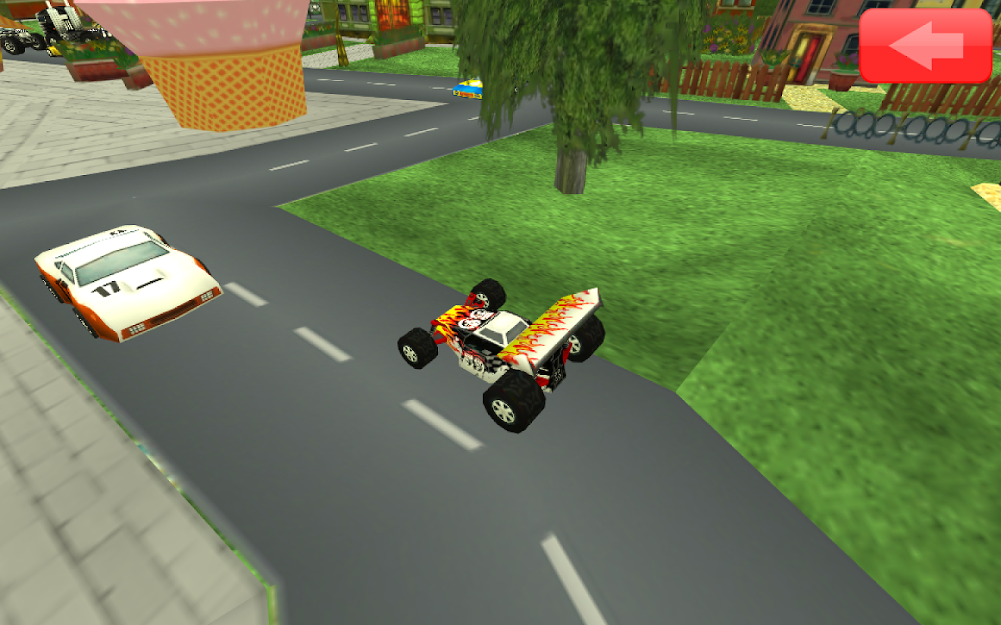 Animated Toddler Puzzles: Cars - screenshot