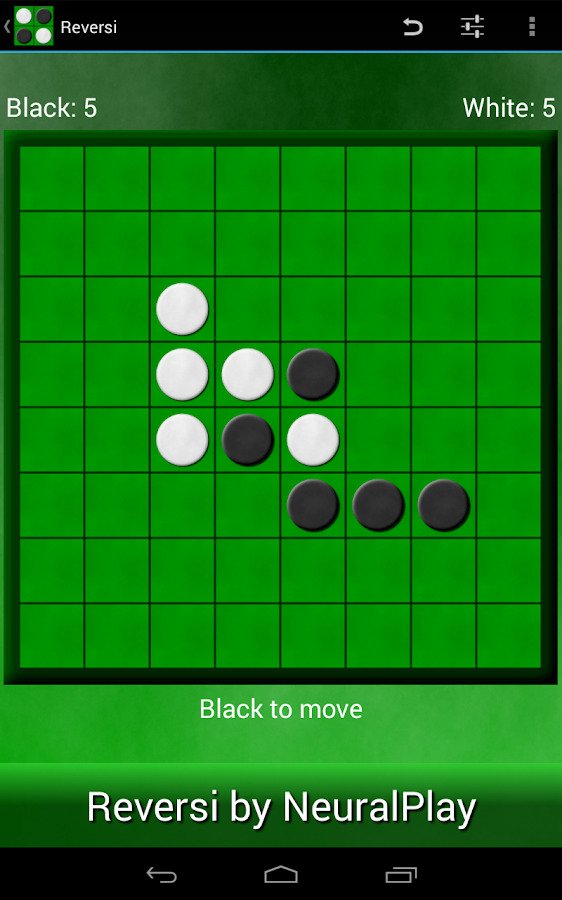 Reversi by NeuralPlay - screenshot