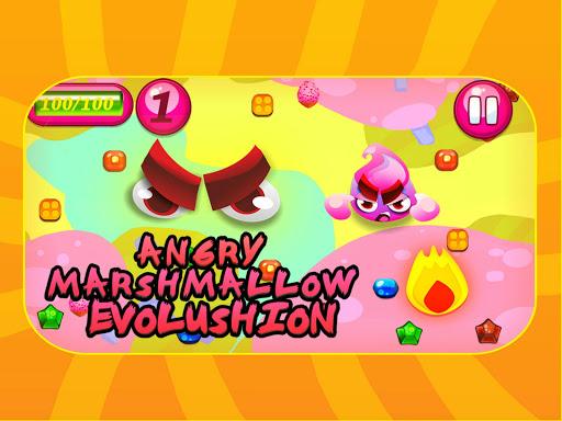 Angry Marshmallow Evolution