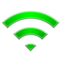 Auto open Wi-Fi donate icon