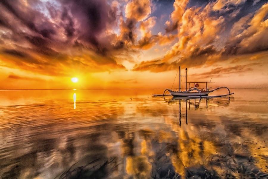 the gold sky by Ruzdhe Photo - Landscapes Sunsets & Sunrises