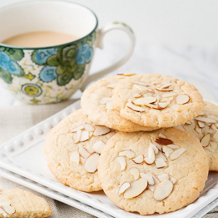 Almond Cafe Cookies Recipe