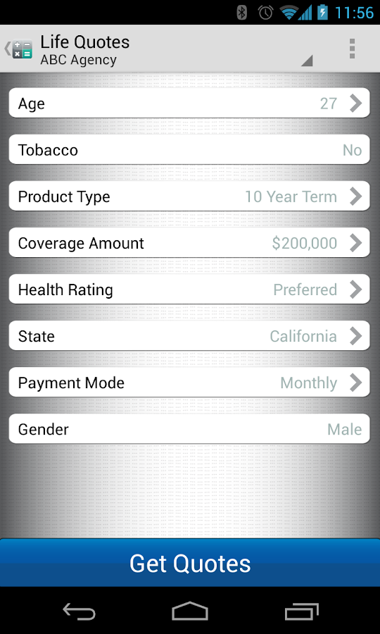 Transamerica Life Insurance Reviews >> Term Life Insurance Quotes - Android Apps on Google Play