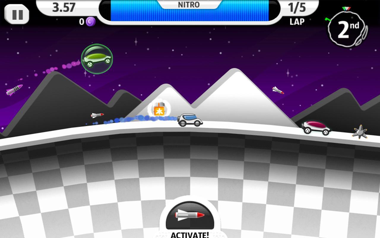 Lunar Racer screenshot #6