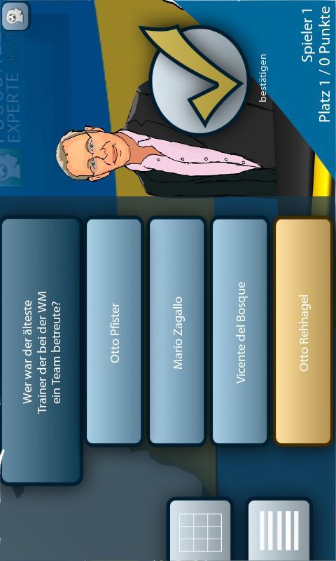 Fussball Experte 2012 - screenshot