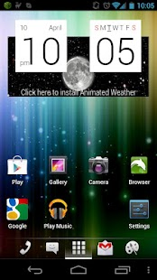 aShell Launcher Homescreen- screenshot thumbnail
