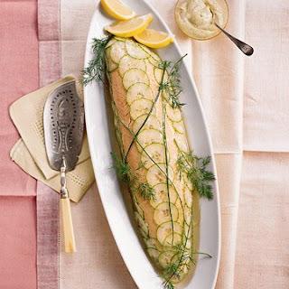 Whole Poached Salmon